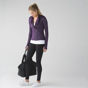 Lululemon Precision Jacket Chain Link Lilac Deep